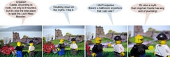 A typical Irregular Webcomic strip featuring a parody of Mythbusters