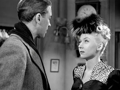"James Stewart and Gloria Grahame as George Bailey and Violet Bick: ""The compassion of Jesus for Mary Magdalene.""[39]"