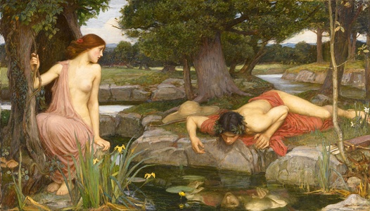 Echo and Narcissus1903