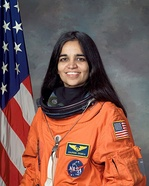Kalpana Chawla, NASA space shuttle astronaut, On February 1, 2003, the Space Shuttle Columbia disintegrated upon reentering Earth's atmosphere, killing all seven crew members including Kalpana Chawla