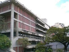 The National Library of Venezuela in Caracas.