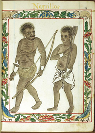 Negritos in the Philippines, 1595
