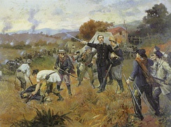 Battle of Fanfa, battle scene in Southern Brazil during the Ragamuffin War