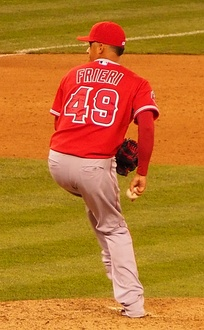 Ernesto Frieri struggled as the closer and was later replaced by Joe Smith. He was traded to the Pittsburgh Pirates for Jason Grilli later during the season. It wasn't long after Frieri was dealt to Pittsburgh until Huston Street arrived after a deal was struck with the San Diego Padres. Street became the new closer.