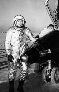 Neil Armstrong with X-15 number 1