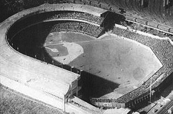 The Polo Grounds, home of the Yankees from 1913 to 1922, was demolished in 1964, after the Mets had moved to Shea Stadium in Flushing.