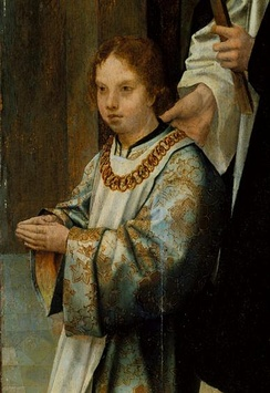 Luís in the Triptych of the Infantes; by the Master of Lourinhã, 1516.