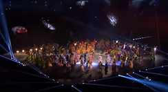 The 2015 Pan American Games opening ceremony had announcements in English, Spanish and French.
