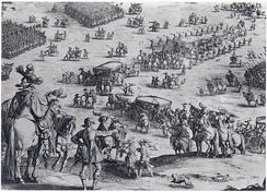 Siege of Breda by Jacques Callot