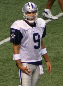 Tony Romo, former quarterback of the Dallas Cowboys