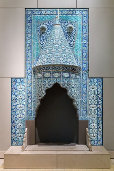 Tilework Chimneypiece, Turkey, probably Istanbul, dated 1731