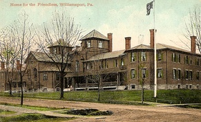 Williamsport Home for the Friendless, c. 1910