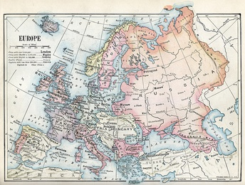 Europe in 1916