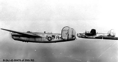 Consolidated B-24J-401-CF Liberator of 25th BG.