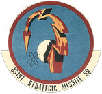 Emblem of the 851st Strategic Missile Squadron