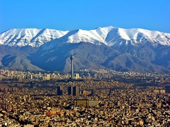 Tehran, capital and largest city of Iran, and the capital of the Persian empires in the last two centuries