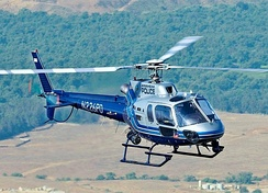 Anaheim Police Department's AS350 B3, known Angel