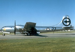 "Martin-Omaha B-29-35-MO Superfortress 44-27297 ""Bockscar"".[1]"
