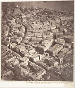 Boston, as the Eagle and the Wild Goose See It, by J.W. Black, the first recorded aerial photograph, 1860