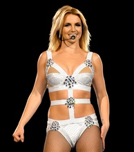 Celebrities such as Britney Spears have popularised the concept of wearing underwear as outerwear.