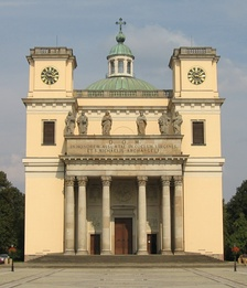 Cathedral of Vác by I. M. A. Ganneval, 1762–1777