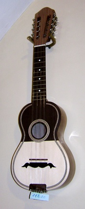 The Portuguese musical instrument Cavaquinho used in traditional music.