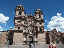 Jesuit church, Cuzco, Peru