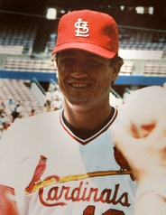 With the Cardinals in 1986