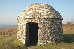 Signal station built in 1588, above the Devon village of Culmstock, to warn when the Armada was sighted
