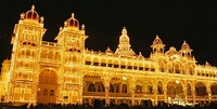 Mysore Dasara procession and celebrations in Karnataka are a major tourist attraction.