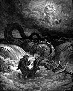 The Destruction of Leviathan by Gustave Doré (1865)
