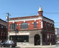 Former Engine 8 firehouse in the Ironbound neighborhood