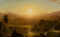The Andes of Ecuador, 1855, Reynolda House Museum of American Art