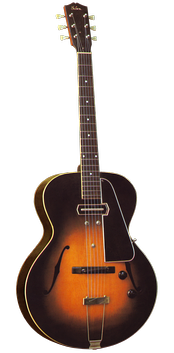 The Gibson ES-150, the guitar model most associated with Christian