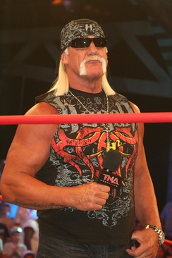 Signed in 2009, Hulk Hogan served as a consultant until 2013.