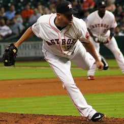 Thatcher with the Houston Astros