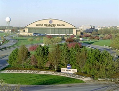NASA's Glenn Research Center is adjacent to Cleveland Hopkins International Airport.