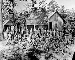 The 21st Michigan Infantry, a regiment serving in the Western Theater.