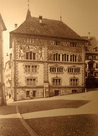 as seen from Hauptplatz square in 1902