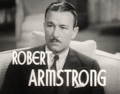 Armstrong featured in the trailer for The Ex-Mrs. Bradford (1936)