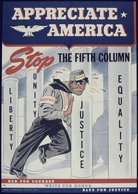 World War II poster from the United States