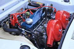 The A12T engine in a Cherry X-1