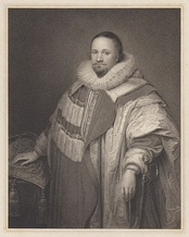 Cooper's father-in-law Thomas Coventry, 1st Baron Coventry (1578–1640), who served as Lord Keeper of the Great Seal 1625–1640.  Cooper first entered politics under Lord Coventry's tutelage.