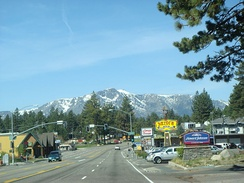 U.S. Route 50 in South Lake Tahoe