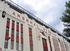 Highbury's Art Deco east facade