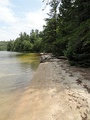 Hidden beach on Beaverhouse Lake