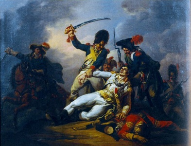 The capture of François de Charette, the royalist leader in the Vendée (February 23, 1796)