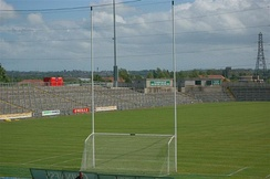 Pitch and terracing at Casement Park