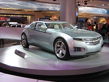 The Chevrolet Volt concept car was unveiled at the January 2007 North American International Auto Show