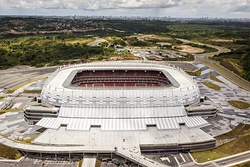 Arena Pernambuco, the stadium of the 2014 FIFA World Cup.